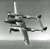 World War Two Photo Lockheed P-38 Lightning Fighter Plane  WW2 WWII 5831