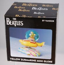 Yellow Submarine MINI SNOW GLOBE Vandor 2005 MIB New OLD STOCK Beatles FREE SHIP