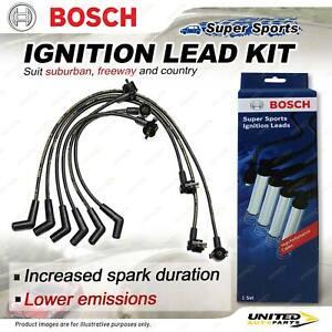 Bosch Ignition Leads for Ford Explorer UN UP UQ US 4.0 V6 12V OHV 1996-2001