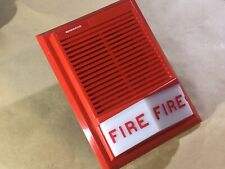 Edwards 892 2b Horn Strobe Red Fire Alarm Wall Mount Vintage Rare