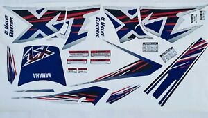 Kit adesivi decal stickers yamaha xt 600  4pt 1996/2001