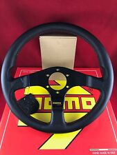 MOMO Tuner 320MM Black Leather Red Stitching Steering Wheel  TUN32BK0B
