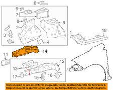 TOYOTA OEM 14-16 Corolla Fender-Outer Rail Left 5711602080