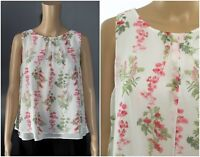 ex Laura Ashley Floral Layered Swing Tunic Top