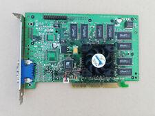 vintage RARE nvidia Geforce 256 Maxi Gamer 3D Prophet DELL-Clone AGP 32MB 3Dfx