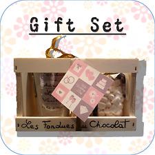 """""""il nostro matrimonio"""" Cioccolato Fonduta + MINI MARSHMALLOW Gift Set OMAGGIO WC4"""