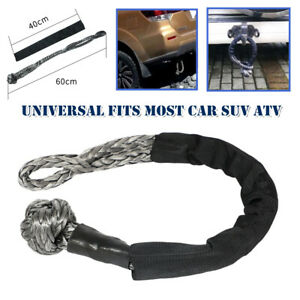 10 Tons ATV Off-Road Towbar Connecting Rope Winch Pull Line Cable Nylon Towing