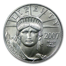2007 1/10 oz Platinum American Eagle Coin - Brilliant Uncirculated - SKU #22467