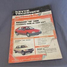 432E RTA 501 Peugeot 305 D Renault 19