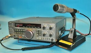 Kenwood TS-440S HF Transceiver With MC-50 MIc AND MARS/CAP Mod- Please Read