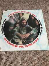 Genesis Rare Limited Edition Interview 12 Inch Picture Disc