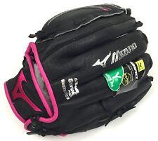 Mizuno Youth Prospect Gpp1005F1 Fastpitch Utility Glove - Black / Pink