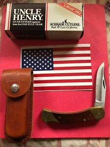 SCHRADE NEW LB7 BEAR PAW LOCKBACK KNIFE
