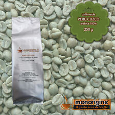 Caffè Verde in Grani Perù Cuzco 250 gr - Caffè Arabica 100%
