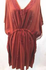 AAINA Collection Swim Coverup Dress Bohemian Resort Women's ONE Size