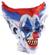 Morris Costumes Halloween Outta Control Latex Horror Clown Mask. FM57608