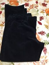 Pre-Owned WOMENS OLD NAVY Sweetheart CORDUROY Blue PANTS SIZE 16