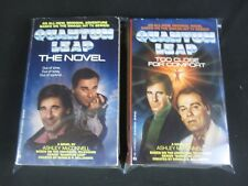 Lot of 2 QUANTUM LEAP PB by Ashley McConnell The Novel + Too Close for Comfort