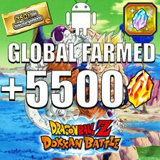 🔥DOKKAN BATTLE GLOBAL +5500 STONES | ANDROID 🔥