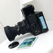 Mamiya UNIVERSAL PRESS Film Camera & 127mm f4.7 lens POLAROID BACK FUJI FP 100c