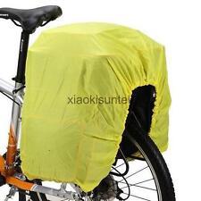 Mountain Bicycle Rear Rack Panniers Saddle Bag 126cm Poncho Dust Rain Cover