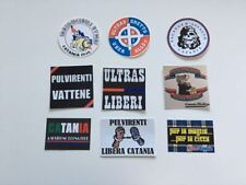 CATANIA 9 ADESIVI ULTRAS PEGATINA STICKERS-SOCCER.COM IRRIDUCIBILI GHETTO LIBERI