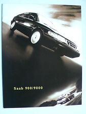 Prospekt Saab Programm 1998: 900, 9000, 1997, 8 Seiten, englisch für USA