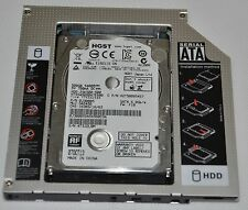 SATA 3 2nd HD SSD Hard Drive Caddy Adapter for Samsung Toshiba Dell Acer Asus HP