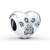 New Genuine PANDORA I Love My Pet Charm 791713CZ  Silver S925 ALE