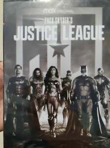 Zack Snyder's Justice League 4h (1-Disc Set) Region 1 BRAND NEW Fast Shipping