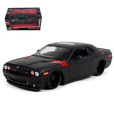 Maisto 1:24  Dodge Challenger Diecast Metal Model Car Matte Black