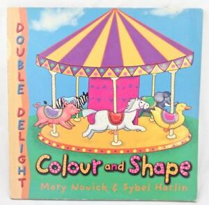 Colour and Shapes Double Delight Book Lift the Flap Change Circles to Snowmen