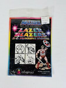 Masters of the Universe Lazer Blazer 3d Holographic Stickers #8604
