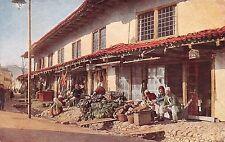 AK Balkan Albanischer Bazar Albaner Typen Trachten vor 1945