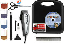 13 Pc Wahl Pet Grooming Pro Kit Electric Hair Shears Clipper Dog Cat Trimmer