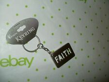 DICKSONS FAITH TAG Key Ring / Key Chain New without Tags FREE Shipping