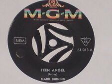 "MARK DINNING -Teen Angel- 7"" 45"