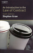 An Introduction to the Law of Contract by Stephen Graw (Paperback, 2008)