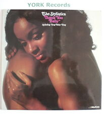 STYLISTICS - Thank You Baby - Excellent Condition LP Record Avco 9109 005