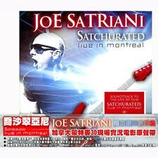 Joe Satriani: Satchurated - Live in Montreal (2012) 2CD OBI TAIWAN