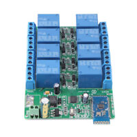 8 Channel DC 5V Relay Module Bluetooth Delay for Android Phone