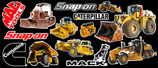 Heavy Equipment Sticker Pack