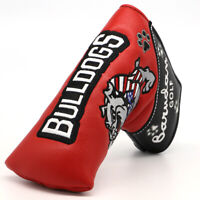 Bulldog Putter Cover Headcover Golf Club Head Cover Magnetic for Scotty Cameron