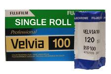 Fuji VELVIA 100 120 Medium Format Roll Slide Film - DATED 07/19
