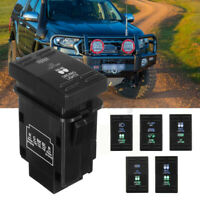For Ford Ranger PX & Mazda BT50 Dual Button Push Switch Driving Lights LED 12V