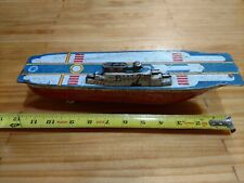 Vintage Wyandotte Toy U.S.S Enterprise Aircraft Carrier