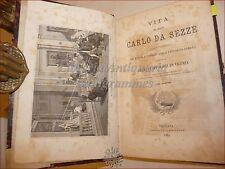 A.M. da Vicenza, VITA SAN CARLO DA SEZZE 1881 Venezia Tavole Stimmate/Stigmate