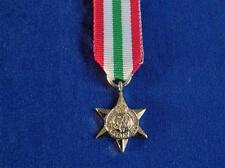 ITALY STAR 1943 TO 1945 MINIATURE MEDAL