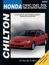 Chilton Repair Manual Honda Civic & Del Sol, 1996-00   #30202