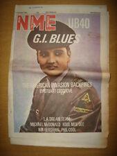 NME 1986 DEC 6 UB40 G.I. BLUES LA DREAM THE REDSKINS